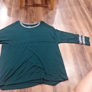 Teal 24/7 mid sleeve shirt